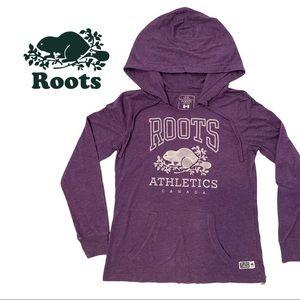 Roots | Purple Pullover Kanga Hoodie